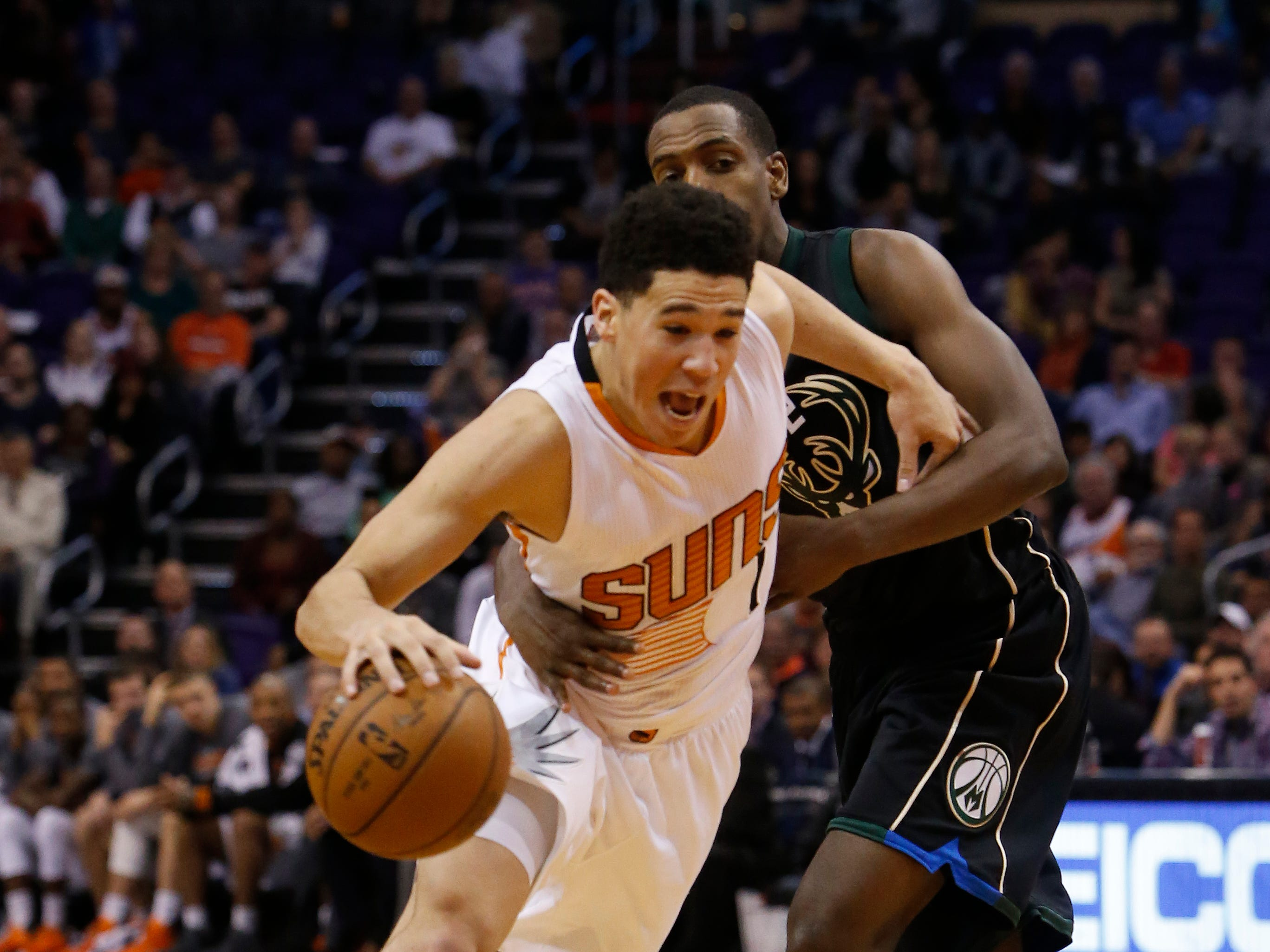 2015-16 | Suns MVP: Devin Booker. Eric Bledsoe averaged more points per game, but didn't even play half the season. Brandon Knight almost averaged 20, but missed about a third of the year. Booker, an NBA All-Rookie first teamer, showed flashes that he could be special.