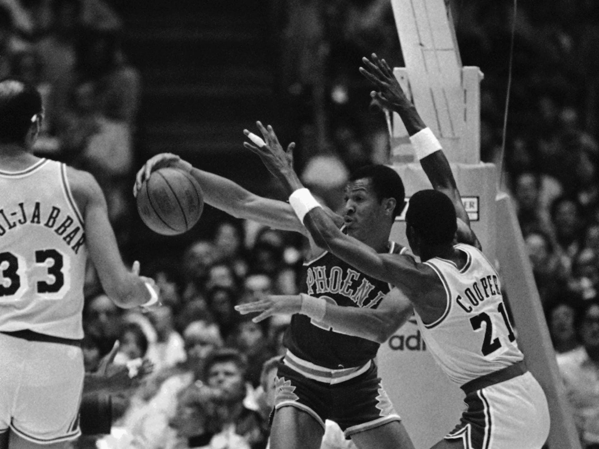 1984-85 | Suns MVP: Larry Nance. Nance earned his first All Star selection and proved himself as an emerging star before injuries limited him to 61 games.