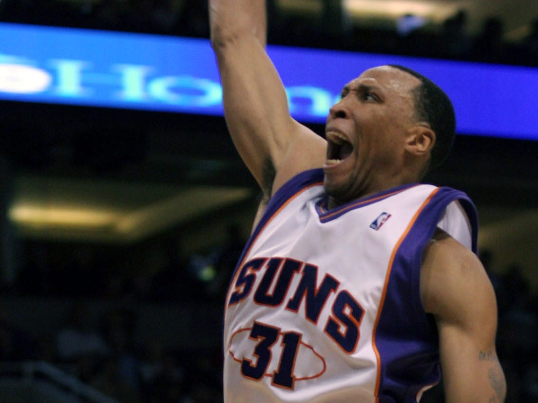 2006-07 | Suns MVP: Shawn Marion. The Matrix could score with anybody, whether the team ran plays for him or not. Plus he led the Suns in rebounds, assists and blocks.