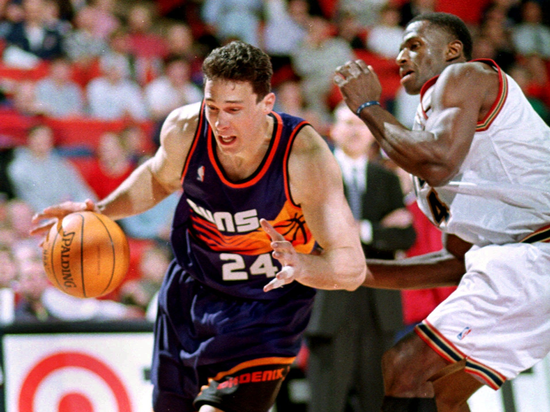 1998-99 | Suns MVP: Tom Gugliotta. In a lockout shortened season, Googs combined with Jason Kidd to lead the Phoenix offense. It was one of the best seasons of Gugliotta's 13-year career.