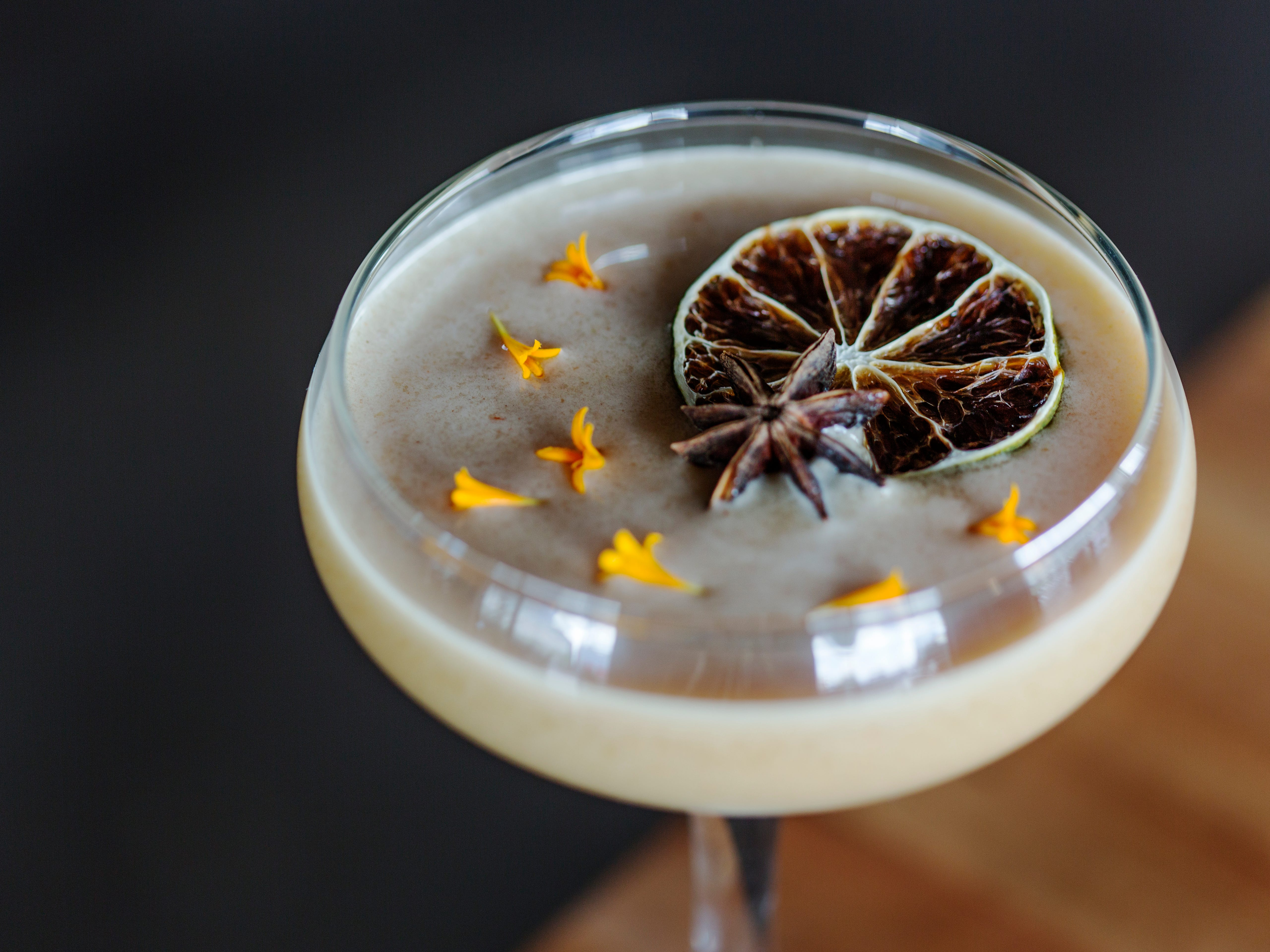 The Larry | The reposado tequila-based Calavera ($10) gets festive with pumpkin mole, coconut milk and lime juice.  Details: 602-432-0752, thelarryphx.com.