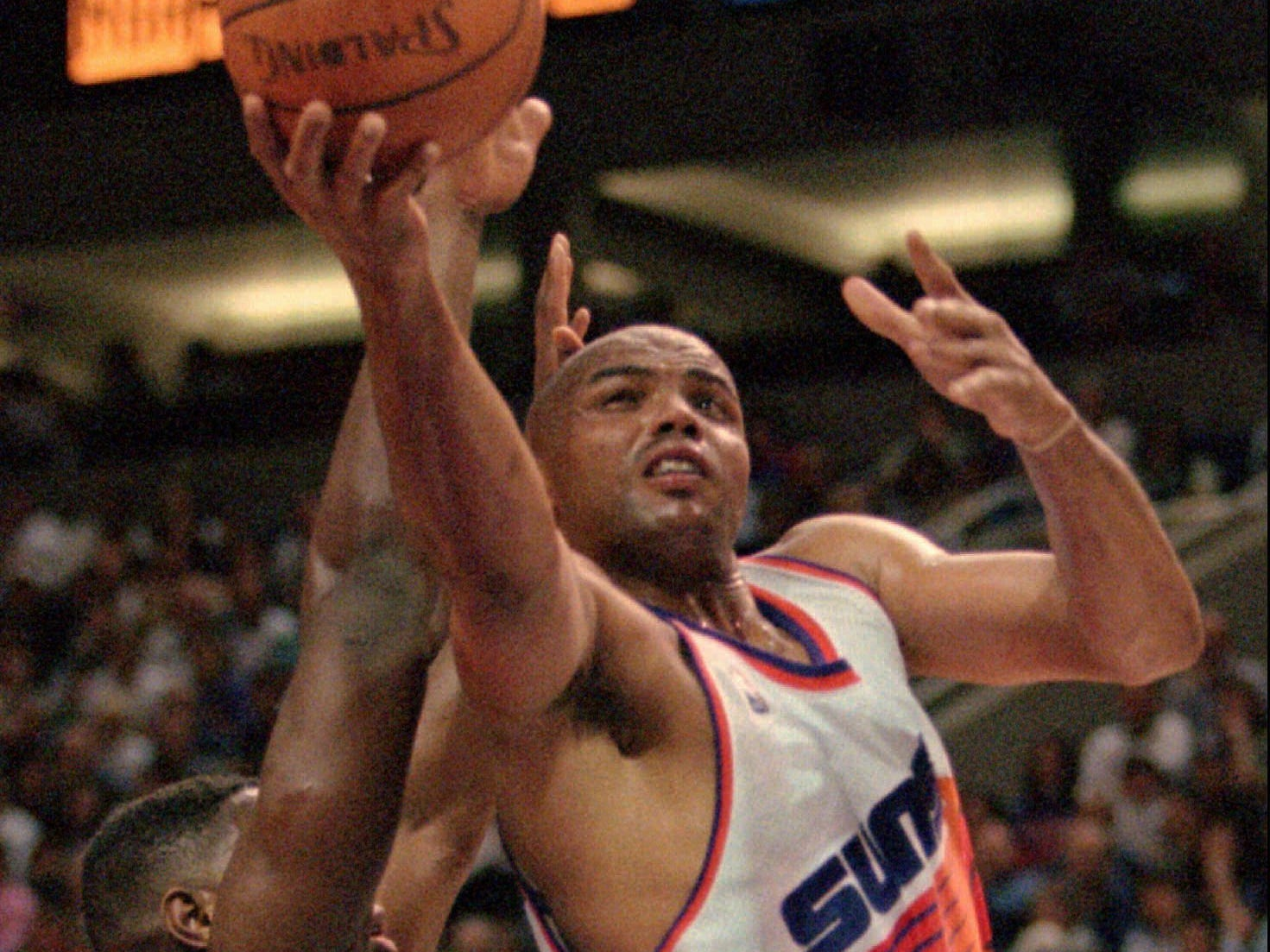 1995-96 | Suns MVP: Charles Barkley. This was Barkley's last season in town. It was the last 20-point season of his career. The aging All Star went off for 30 points and 20 rebounds in a playoff loss to the Spurs that signaled the end for the future Hall of Famer.