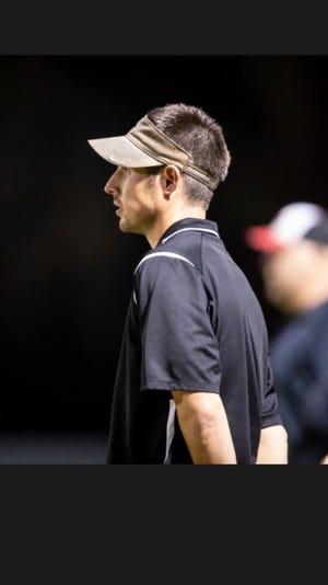 Chandler Prep football coach Chris Goodman