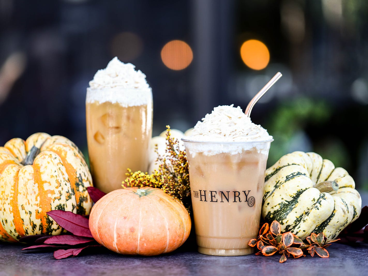 The Henry |The pumpkin spice cold brew is topped with chai Chantilly cream ($4.50 for regular, $5.50 for large).  Details: 602-429-8020, thehenryrestaurant.com