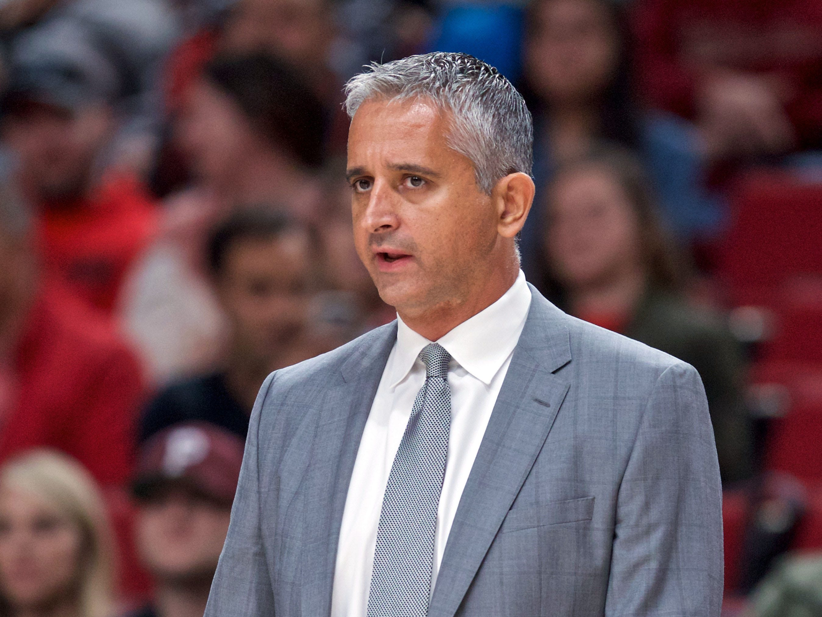 Oct 10, 2018; Portland, OR, USA; Phoenix Suns head coach Igor Kokoskov during the first quarter against the Portland Trail Blazers at the Moda Center.