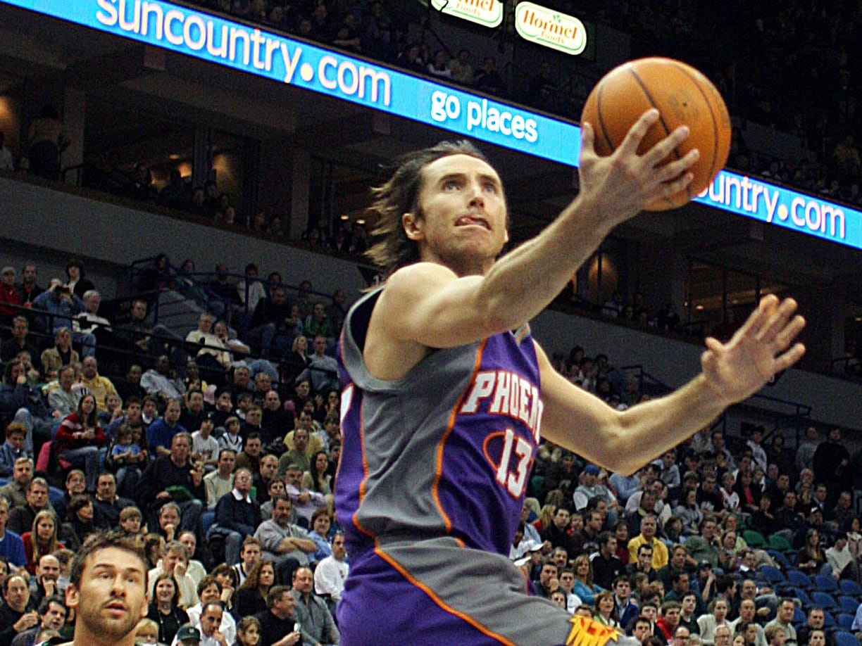 2005-06 | Suns MVP: Steve Nash. Nash joined an elite list of players with multiple NBA MVP awards.