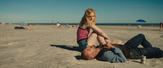 "Ben Foster and Elle Fanning star in ""Galveston."""