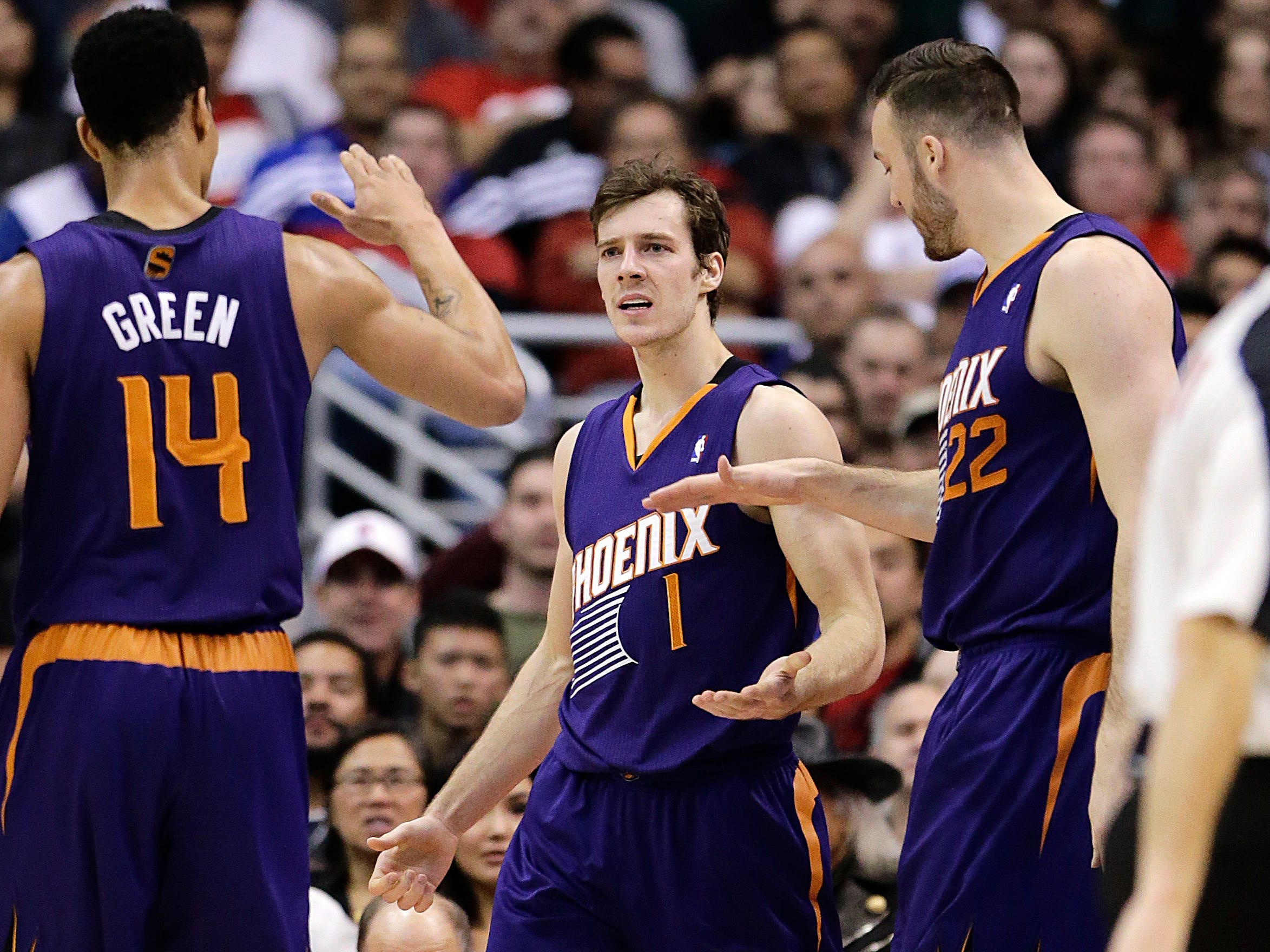 2013-14 | Suns MVP: Goran Dragic. Dragic was an All-NBA third teamer. He led the Suns in scoring and assists, and briefly made everyone wonder whether he could be the successor to Steve Nash.