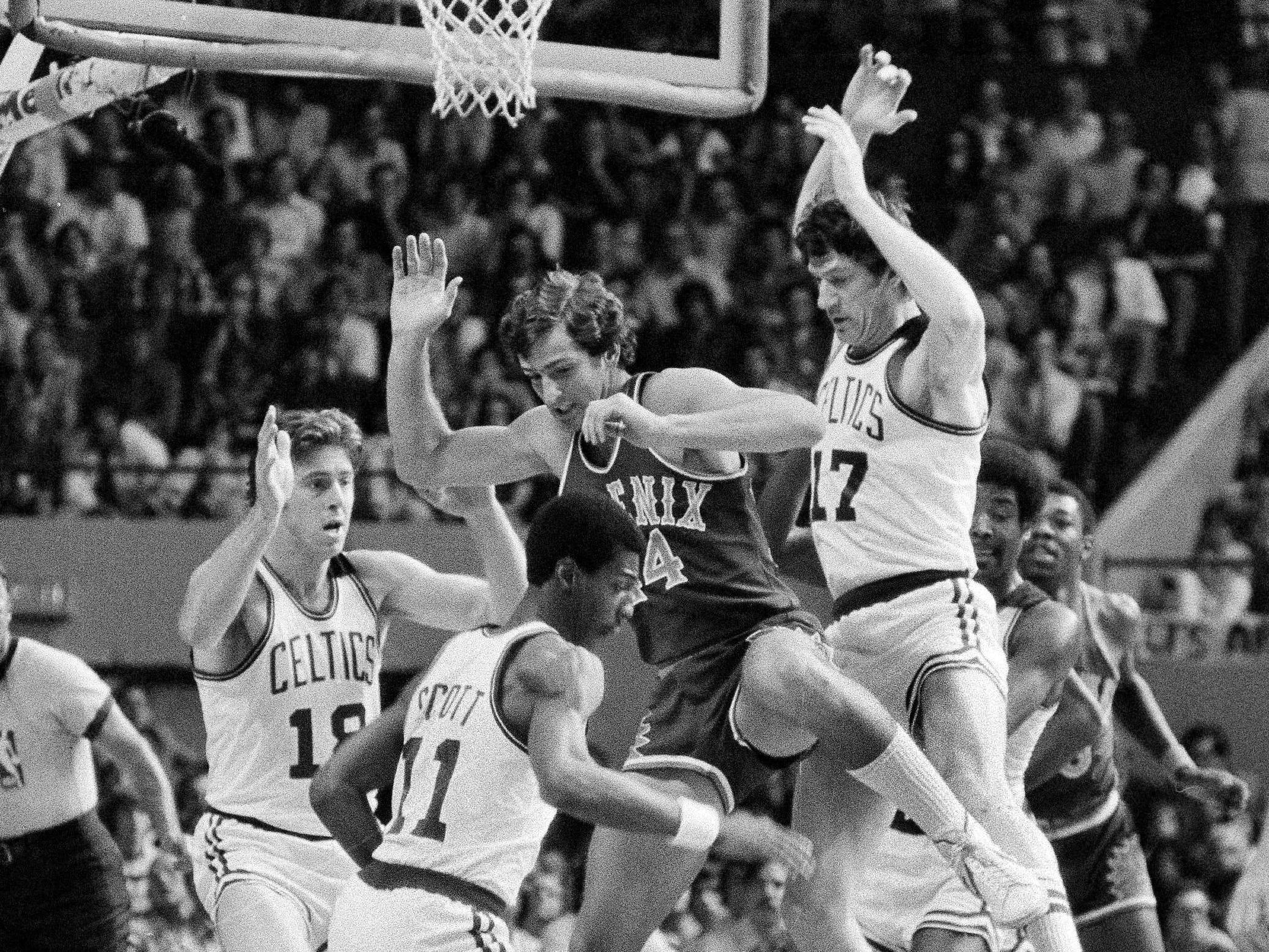 1978-79 | Suns MVP: Paul Westphal (seen in 1976). Westphal continued to lead the Suns in offensive categories and was again first team All NBA.