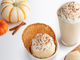 Creamistry | Get your pumpkin spice fix in any of the ice cream bases that run the gamut of signature premium to vegan cashew. Have it in an ice cream sandwich ($6.45), NitroShake ($7.95) or simply in a cone or cup ($5.15-$8.50).  Details:  creamistry.com.