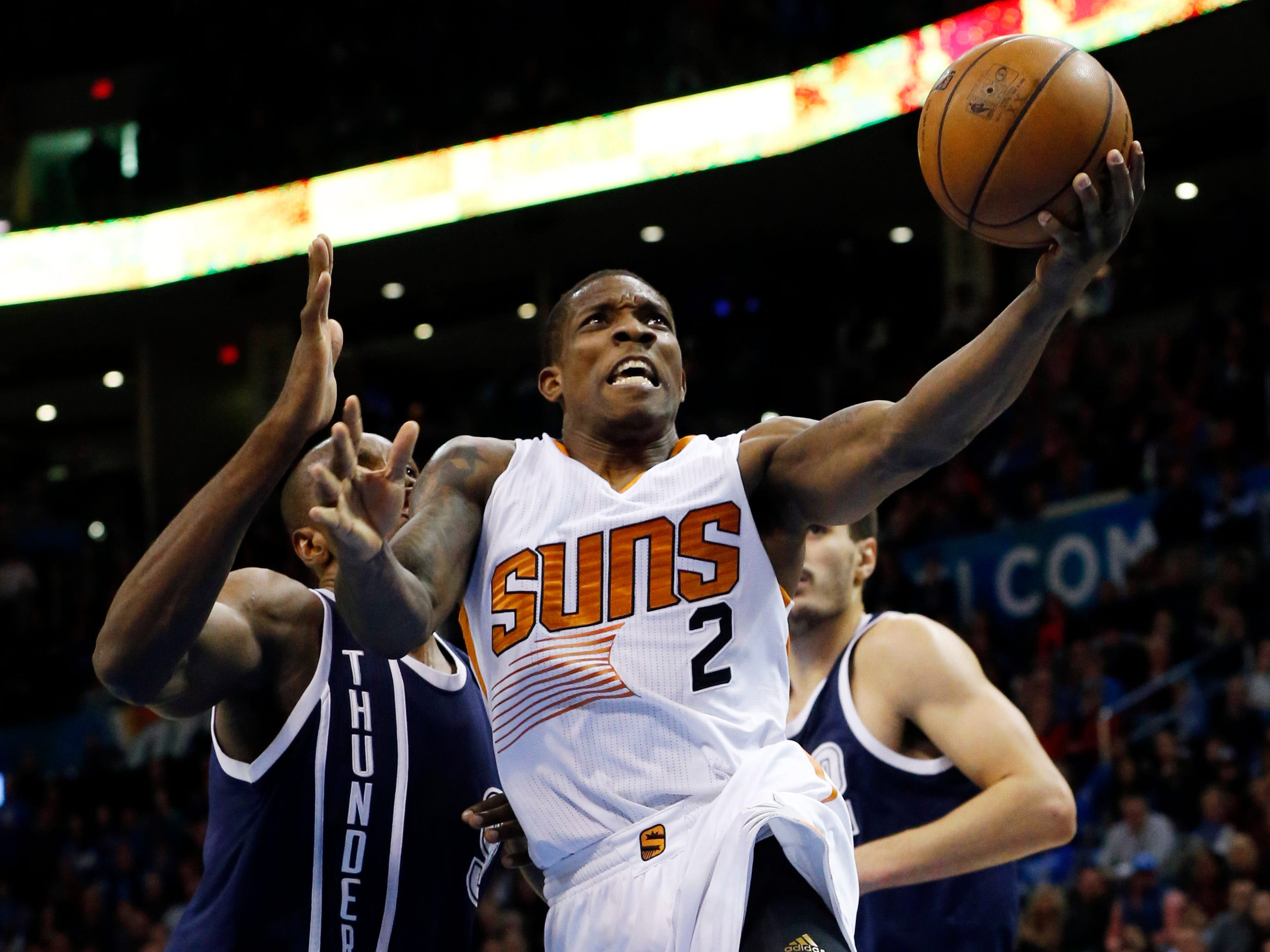 2014-15 | Suns MVP: Eric Bledsoe. Bledsoe averaged 17 and stayed healthy. He's likely to be remembered as the best player of a forgettable era.
