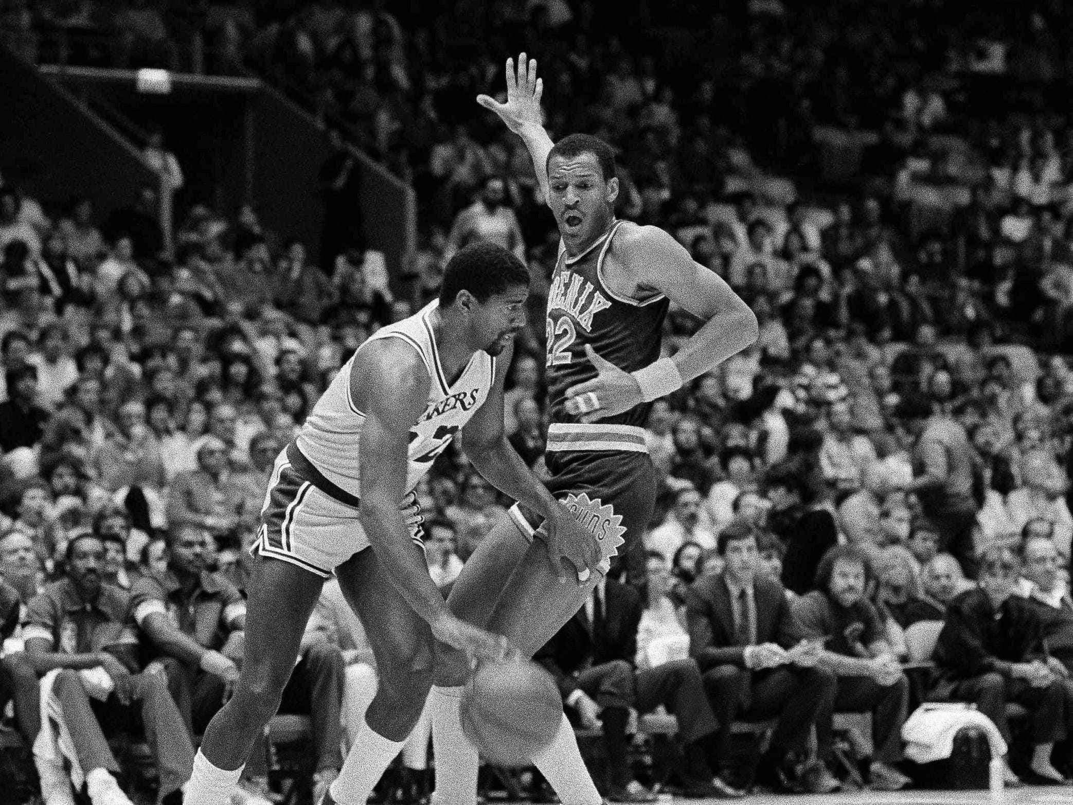 1985-86 | Suns MVP: Larry Nance. Nance averaged 20.2 points per game on 58 percent shooting. He also led the team in rebounding.