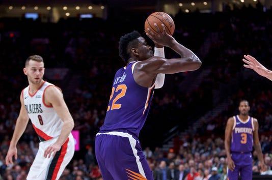 Nba Preseason Phoenix Suns At Portland Trail Blazers