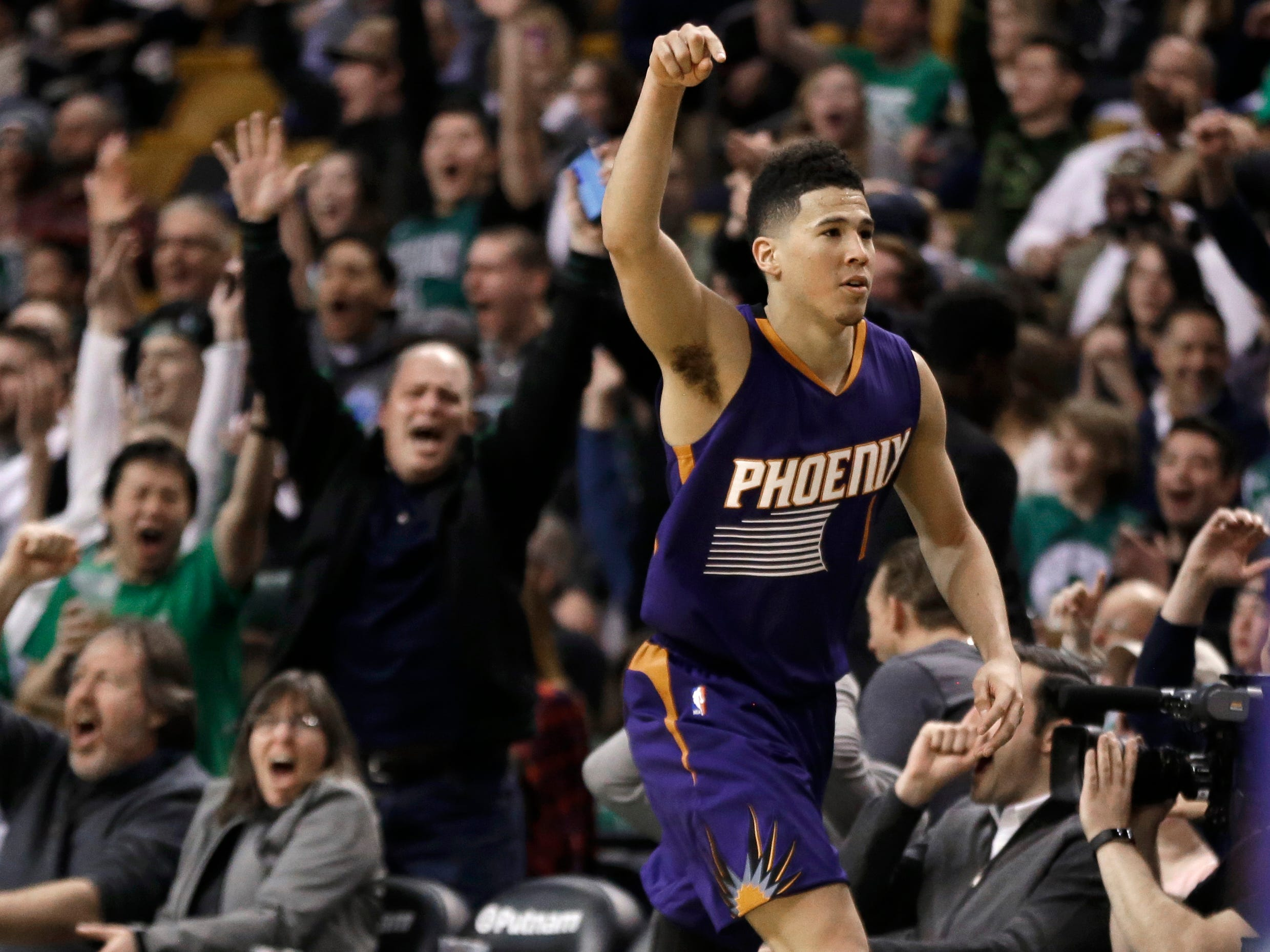 2016-17 | Suns MVP: Devin Booker. Booker's 70-point game was an unforgettable moment in a forgettable season. So what if Coach Earl Watson did everything in his power to help the rising star hit the historic number?