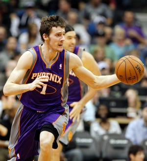 2012-13 | Suns MVP: Goran Dragic. Dragic was somehow among the NBA's top-10 in assists, despite a lackluster offensive cast.