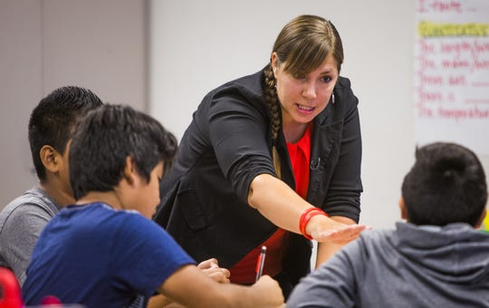Phoenix teacher fights to lead her movement and her classroom