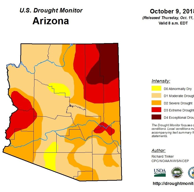 Thanks, Hurricane Rosa: Storm provided some drought relief to Arizona