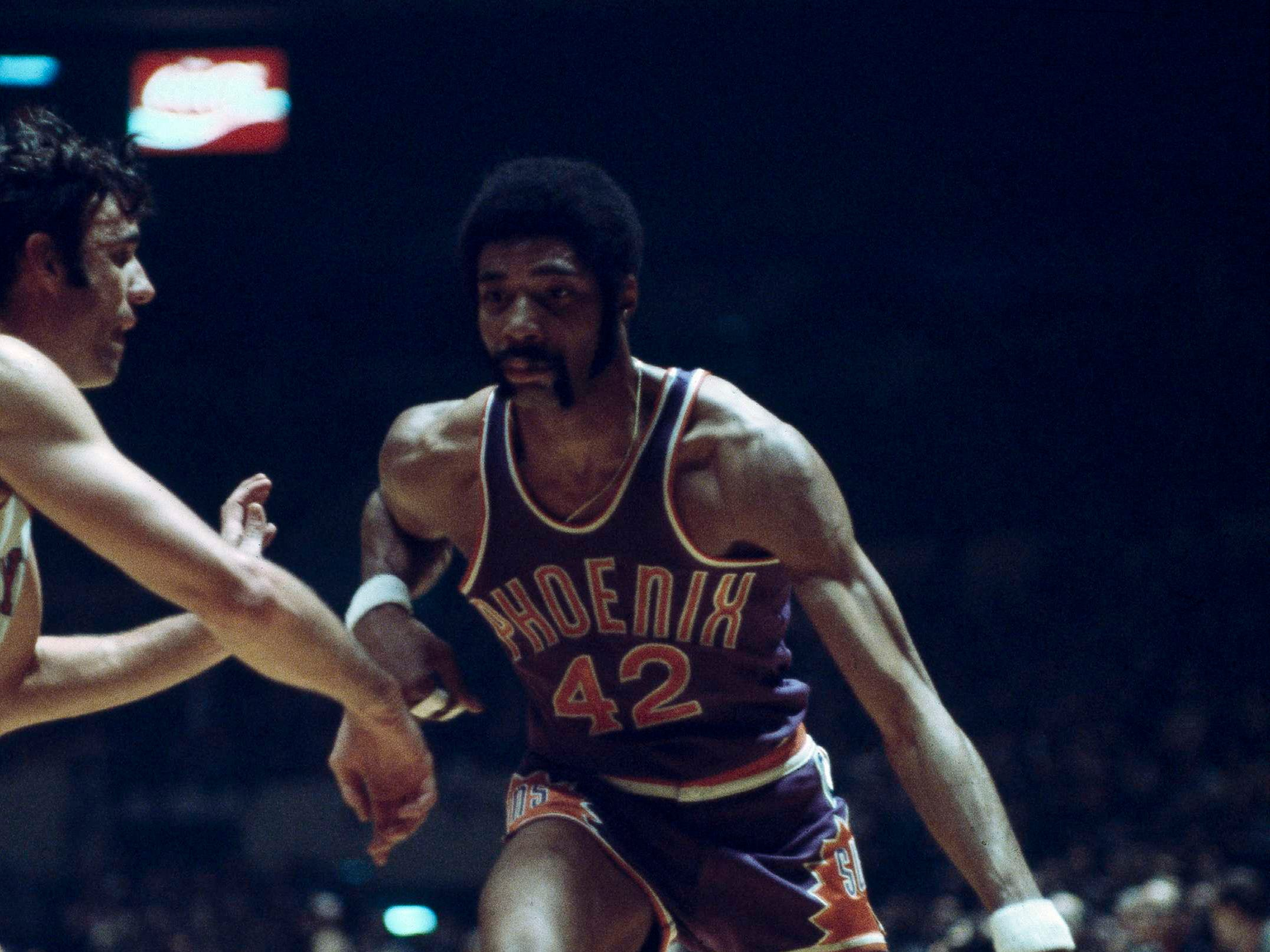 1969-70 | Suns MVP: Connie Hawkins (seen in 1971). Newcomers Hawkins, Silas and Neal Walk helped the young Suns improve by 23 wins. Hawkins gets the nod here in his best NBA season.