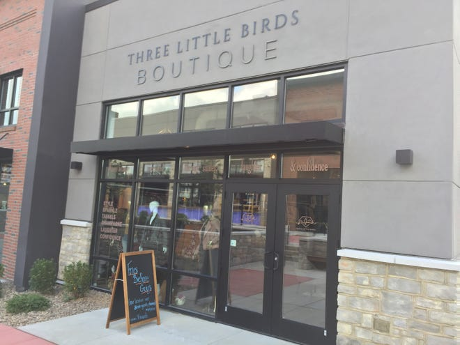 Three Little Birds Boutique is a trend women's fashion store at Hershey Towne Square.