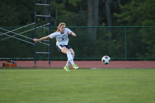 Cedar Crest grad Delaney Cole overcame two knee surgeries in high school to become a standout defender at Messiah College.