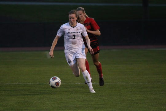 Cedar Crest grad Delaney Cole has developed into one of the top defenders in NCAA Division III during her career at Messiah.