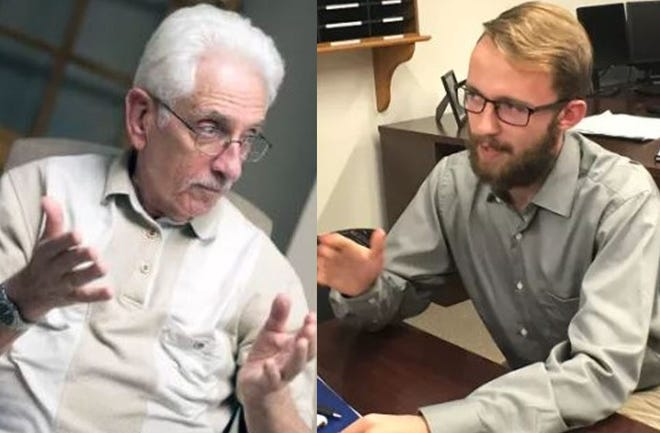 Jim Byrnes of Chambersburg and Lucas Everidge, a Shippensburg University student. Both recently talked to Public Opinion about their political views and the importance of voting.
