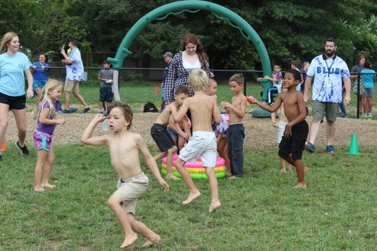 Students play outside at the York Jewish Community Center's summer day camp. The organization is looking to expand its camp to an offsite property of at least 20 acres and provide more outdoor activities.