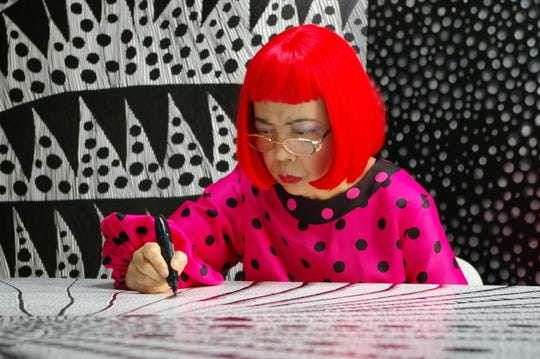 """""""Kusama: Infinity"""" is playing at Small Star Art House."""