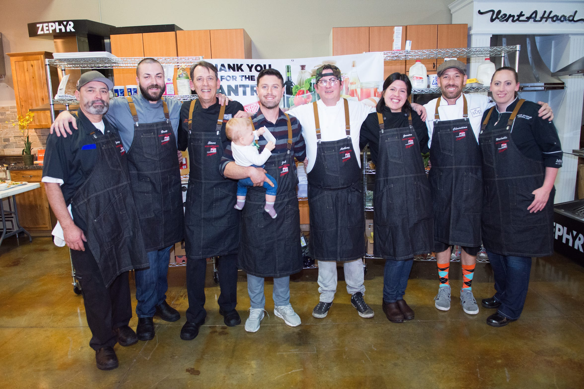 The chefs competing at the 2017 Reno Bites Chef Showdown. The event, the capstone to Bites, runs Oct. 20 at Czyz's Appliance in 2018.