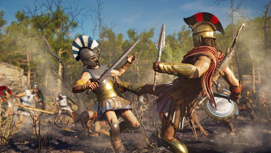 Assassin's Creed Odyssey for PC, PS4 and Xbox One.