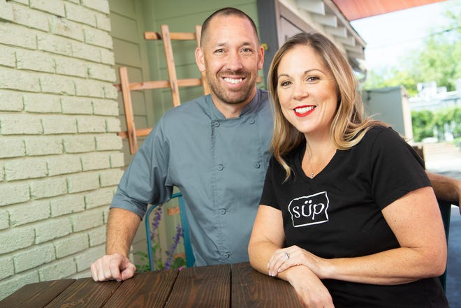 Chef Christian and Kasey Christensen, owners of Süp restaurant, are once again participating in Reno Bites, Oct. 8-21, 2018. The chef is the reigning chamption of the Reno Bites Chef Showdown.