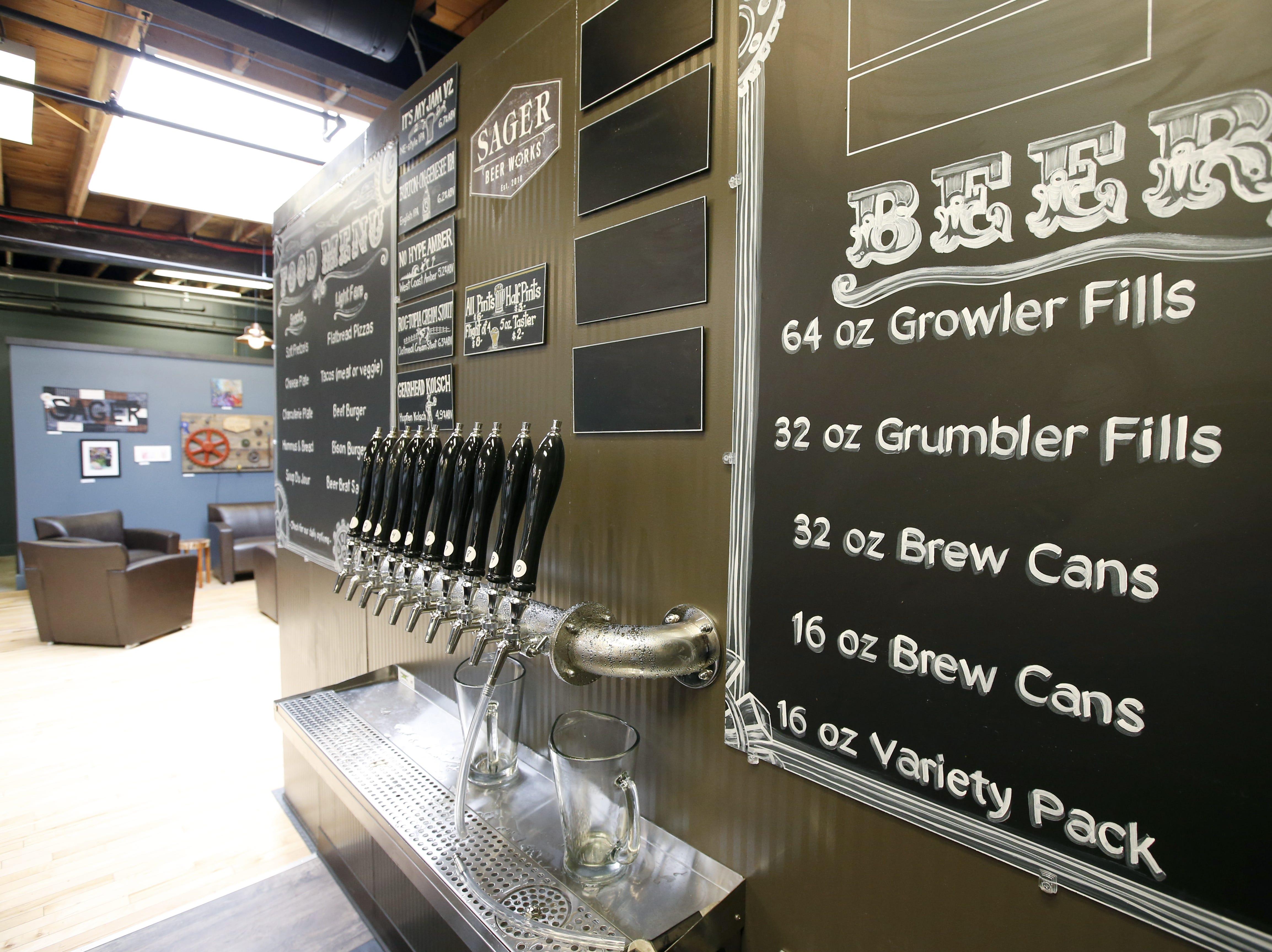 Sager Beer Works.