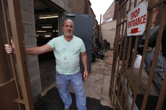 """Francis """"Andy"""" Winterkorn owns the building and has his business located on W. Main Street right at Chili Ave.  He said he's been there for 20 years, """"I don't want to go nowhere else."""""""