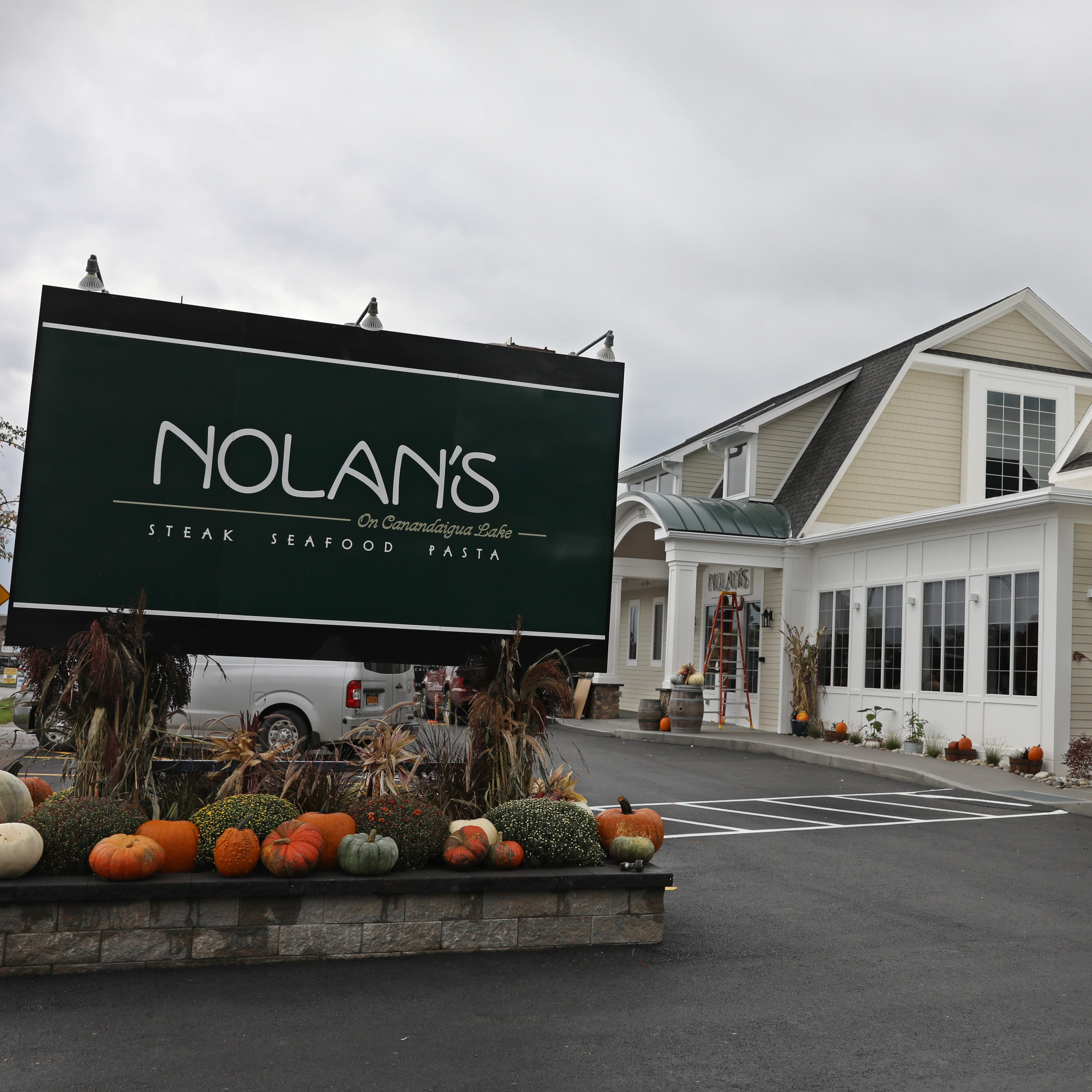 Nolan's restaurant reopens Monday in Canandaigua after $2.4 million rebuild