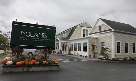 Nolan's in Canandaigua Thursday, Oct. 11, 2018.  The popular restaurant, which burned down in July of 2017, is set to reopen.