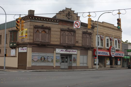 The building is located on W. Main Street right at Chili Ave.