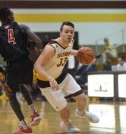 Chase Kumor, a captain on the Salisbury University men's basketball team, helped form the fundraiser to help teammates Jack Ferguson.