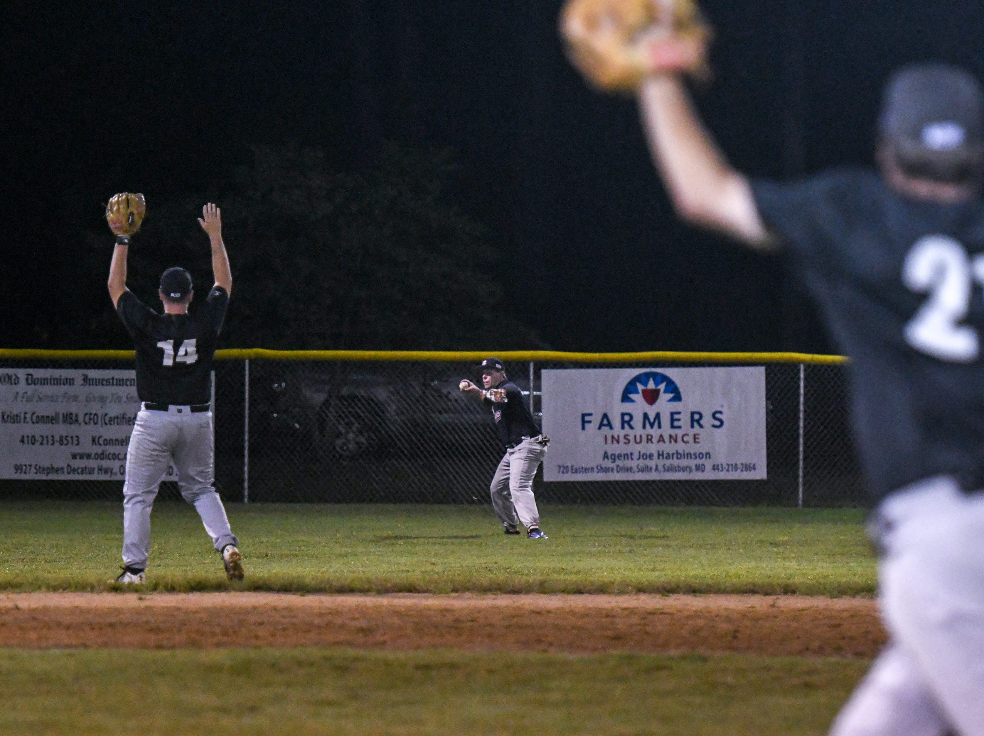 Players in the new Ty Cobb Senior Baseball League competed in two games in Salisbury on Tuesday, Oct 9, 2018.
