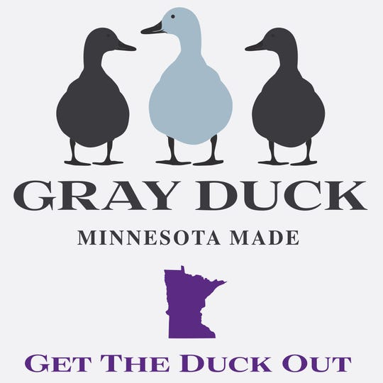 Logo for Gray Duck Spirits