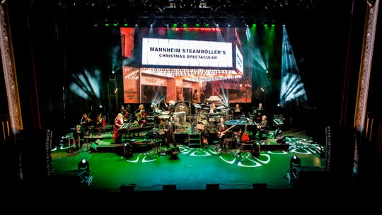 Mannheim Steamroller Christmas is returning to Evansville's Aiken Theatre Thursday.