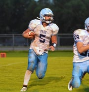 Quarterback Trey Knight III is a big reason Page County is off to a 4-2 start this season.