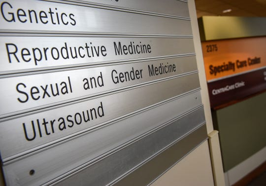 The sexual and gender medicine clinic shown Thursday, Oct. 11, located in the CentraCare Health Plaza.
