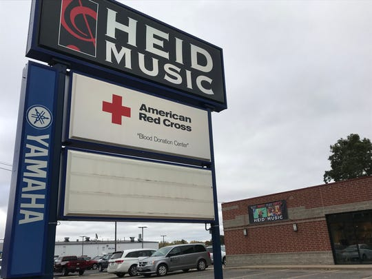 Heid Music, 3201 Main St. in Stevens Point