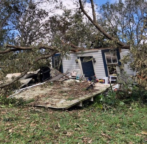 'I just want them to get him out,' says wife of Florida man killed during Hurricane Michael