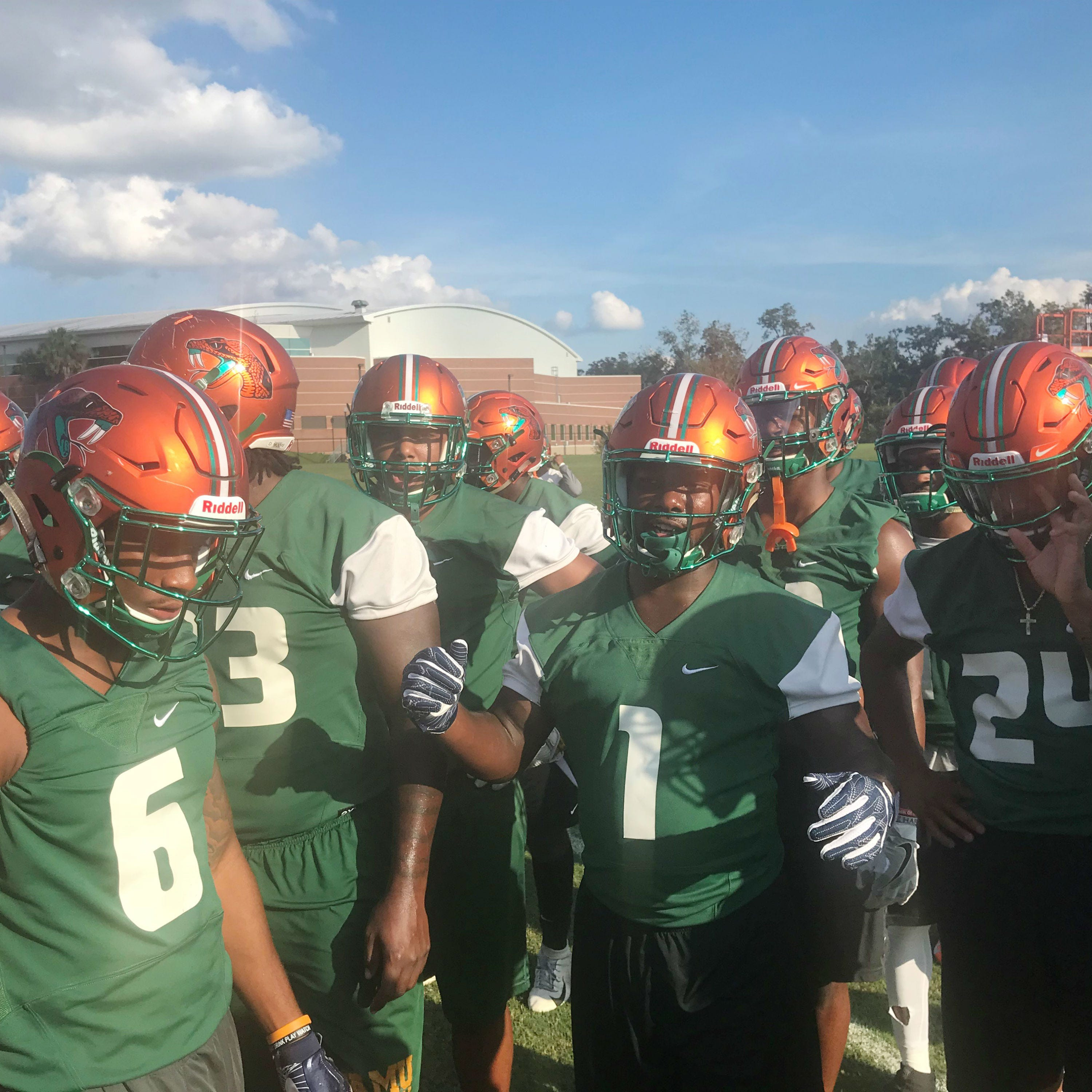FAMU resumes practice after Hurricane Michael