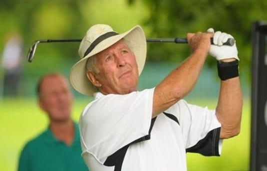 Golf 01 Larry Laoretti Celebrities Participate In The Farmfoods 3802405
