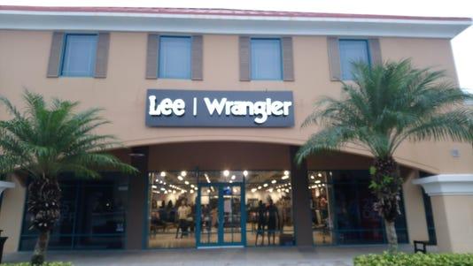 Lee Wrangler Storefront