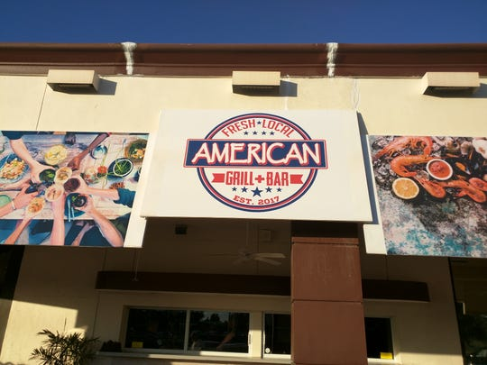 A view of the outside of American Grill and Bar in Vero Beach.