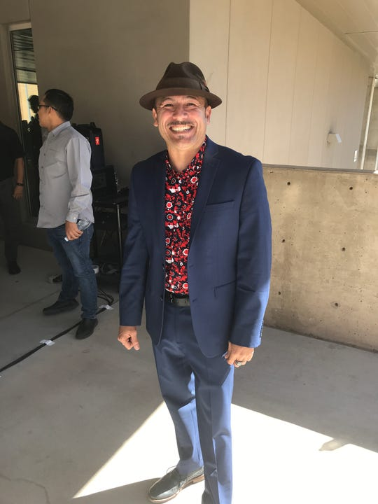 """El Paso native and """"Coco"""" actor Lombardo Boyar returned to El Paso to inspire college students for Hispanic Heritage Month."""