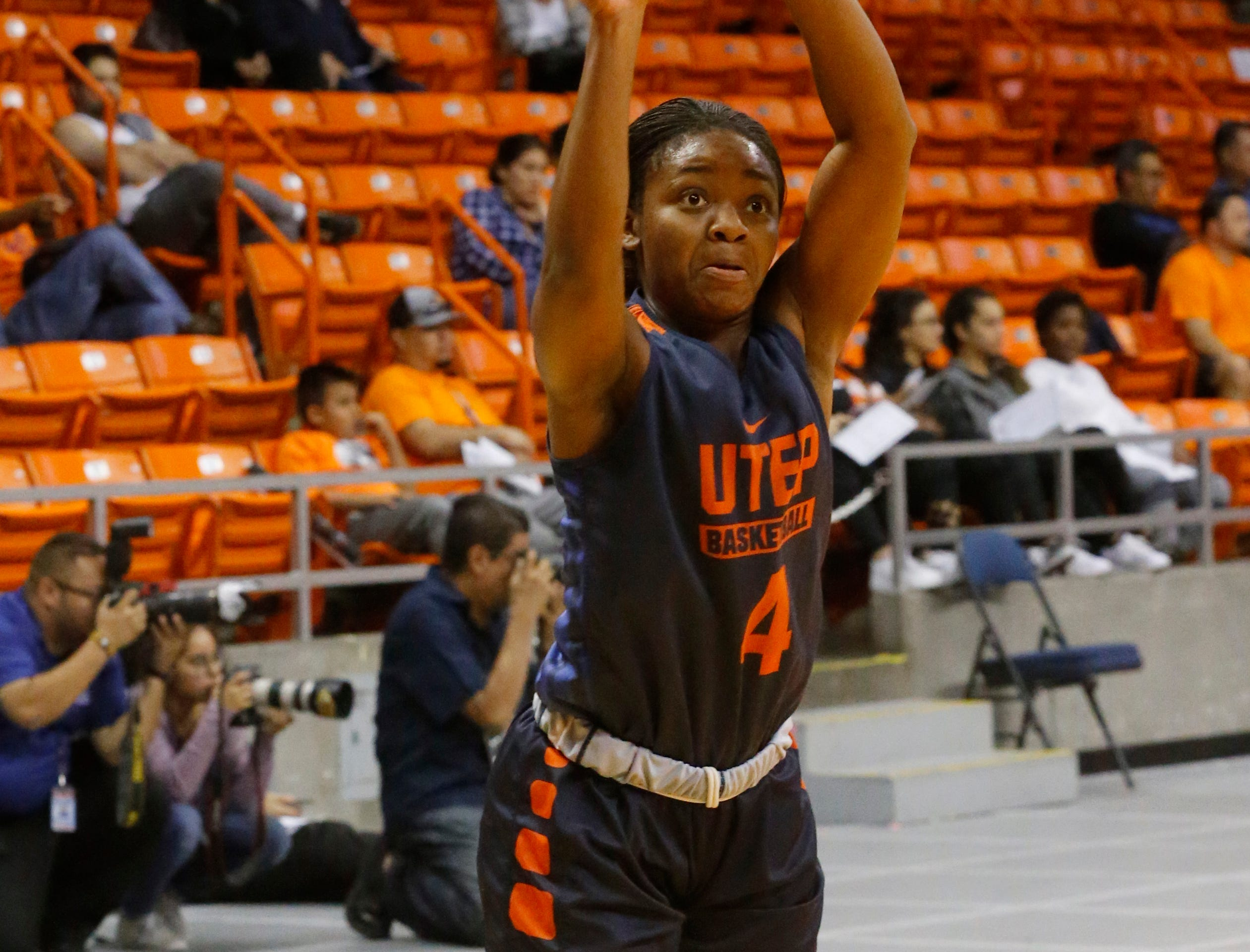 UTEP women's basketball team gave its hoops fans just a tease at Basketball Showcase Wednesday night